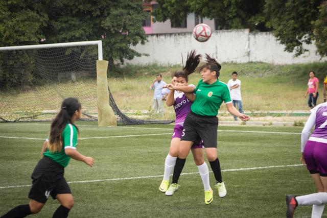 Chiapas inicia con el pie derecho en futbol 6x6