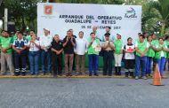Inicia Fernando Castellanos el Operativo Guadalupe-Reyes en Tuxtla Gutiérrez