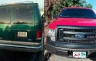 SSyPC detiene dos vehículos que transportaban indocumentados