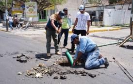 Realiza SMAPA trabajos preventivos y de mantenimiento en la red sanitaria de Tuxtla Gutiérrez