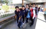 Secretaría de Educación alerta a comunidad escolar por efectos del frente frío no. 25
