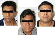 Detienen a tres sujetos por homicidios en Oxchuc