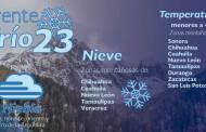En el norte, el noreste, el oriente y el centro de México se prevé un nuevo y marcado descenso de temperatura