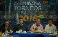 """Listo """"Calendario de Pesca Deportiva"""" 2018"""
