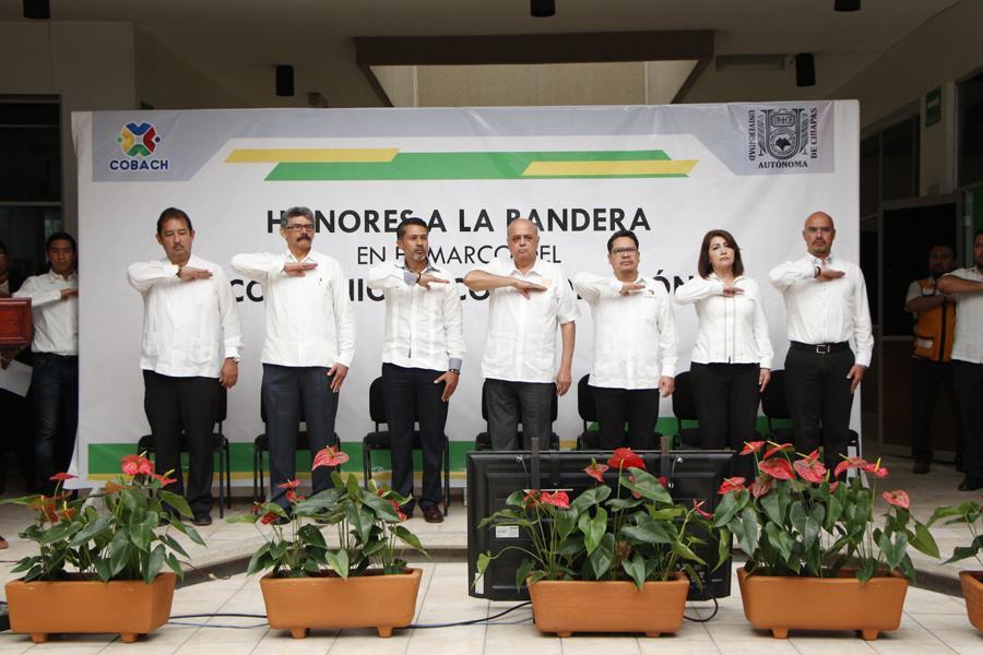 Eventos conmemorativos en el marco al Día de la Bandera