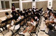 Capacita FGE a jóvenes de Tuxtla en temas de prevención