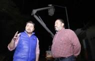 Mayor seguridad en calles de Tuxtla con rehabilitación de luminarias