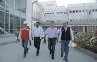 Constata MVC avances en obra del Hospital General de Tapachula