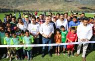 Amplía MVC infraestructura deportiva en Chiapas