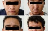 Detienen a presuntos implicados en robo de vehículos que operaban en Chiapas y Tabasco