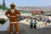 PGR se sumó al mega simulacro de sismo con magnitud de 8.2 en Chiapas