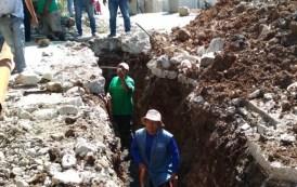 Inicia SMAPA rehabilitación de drenaje sanitario en la colonia Miravalle