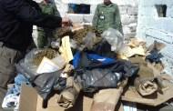 PGR incinera narcóticos y destruye objetos del delito en Chiapas