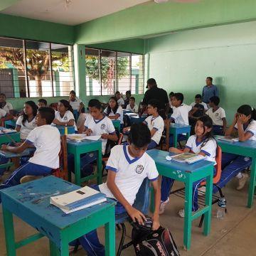 """Más de 800 estudiantes participan durante operativo """"Mochila"""" en Tapachula: FGE"""