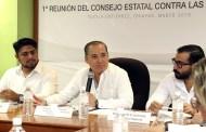 Chiapas por debajo de la media nacional en consumo de drogas