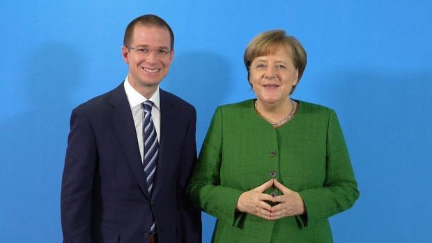 Por segunda vez, Anaya se reúne con la canciller alemana Ángela Merkel
