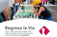 """Invita el Ayuntamiento de Tuxtla al domingo de """"Vía Recreativa"""""""