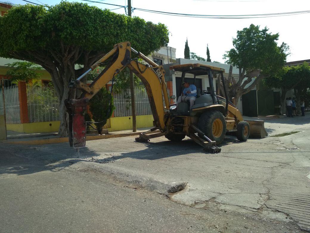 Inicia SMAPA obra de rehabilitación de drenaje sanitario en Colonia Los Laguitos