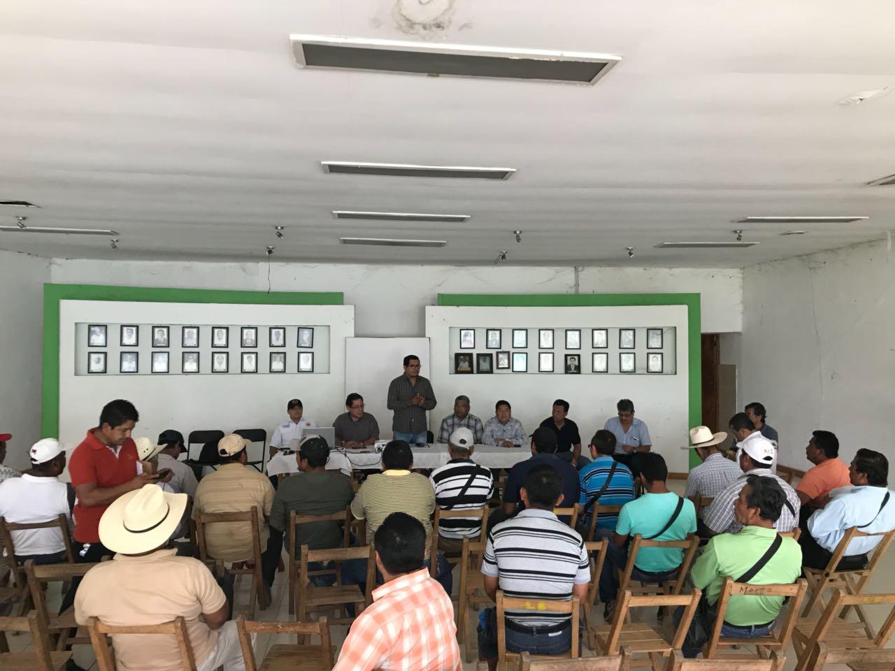 Sector ganadero y autoridades ejidales contribuyen en materia de prevención del delito: FGE