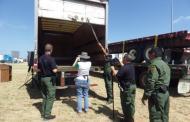 Rescata Patrulla Fronteriza a 35 indocumentados que viajaban en tráiler