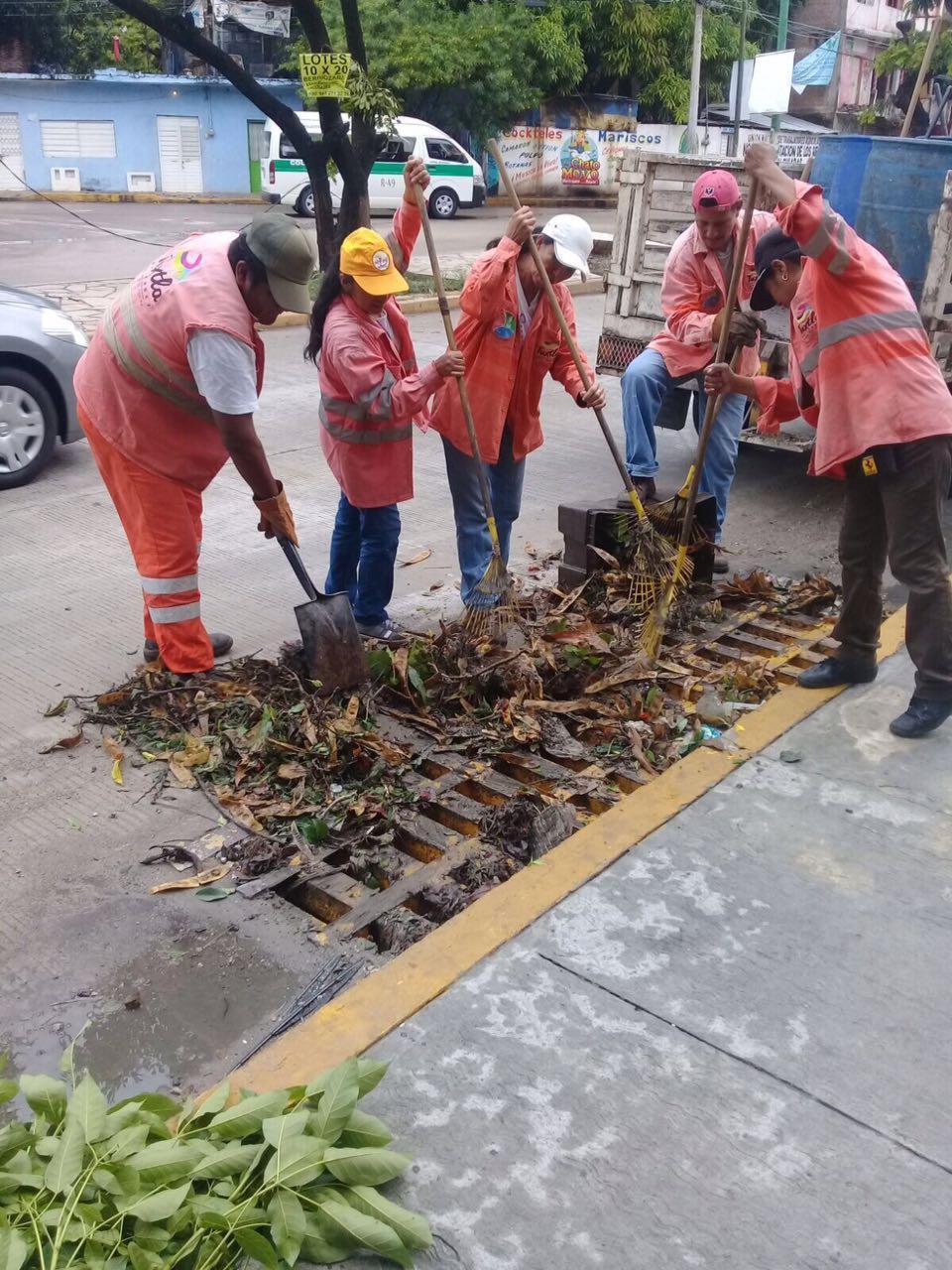 Inician tareas de prevención ante temporada de lluvias en la ciudad