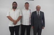 Recibe Fiscalía de Chiapas a Embajador de El Salvador en México