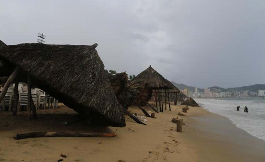 Alerta amarilla para Baja California Sur por huracán Bud