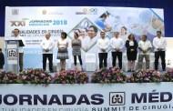 Inaugura ISSTECH las Jornadas Médicas 2018