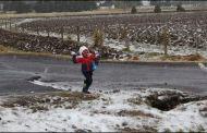 Frente frío número 10y la primera tormenta invernal