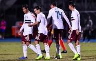 La selección de México fue exhibido por Argentina