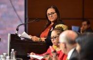 La legisladora Carmen Medel, agradece solidaridad y apoyo tras asesinato de Valeria en Veracruz