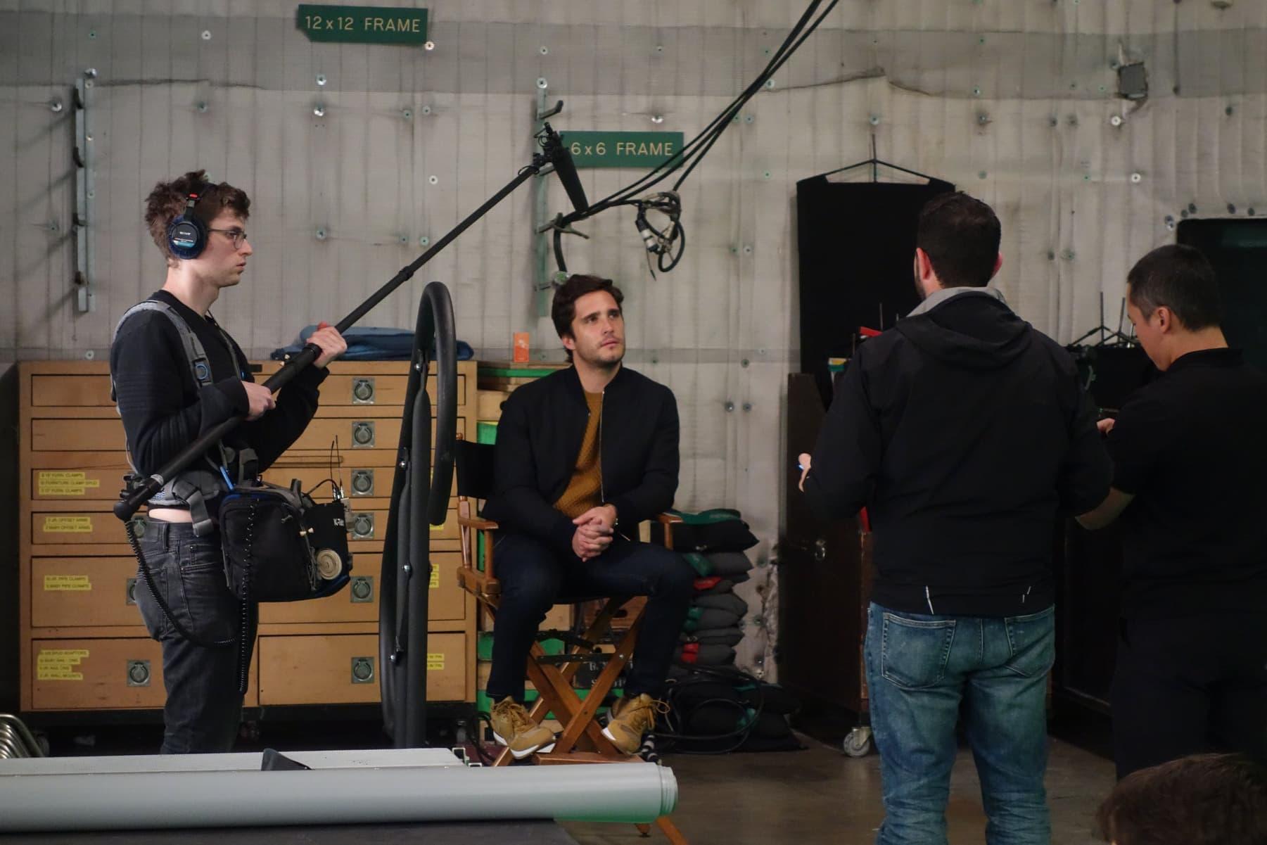 Diego Boneta 1er mexicano en grabar un holograma de última tecnología