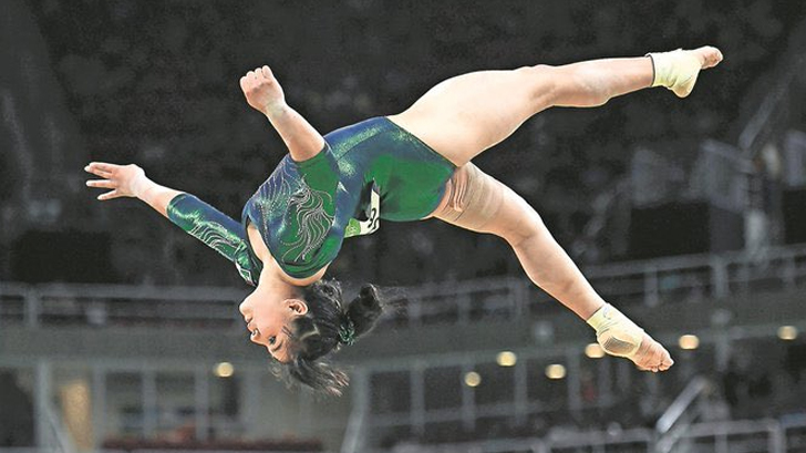 Mexicana Alexa Moreno se cuelga bronce en Copa del Mundo