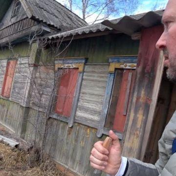 YouTuber entra a zona prohibida de Chernobyl y se encuentra a una abuela de 92 años que vive allí con su hijo