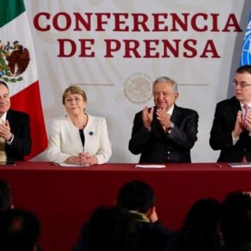 México y ONU firman acuerdo de derechos humanos para formación de la Guardia Nacional
