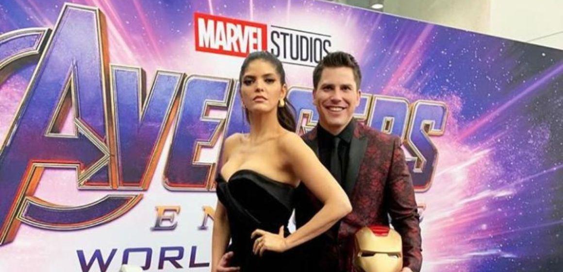 Ana Bárbara hace 'el oso' en premiere de Avengers