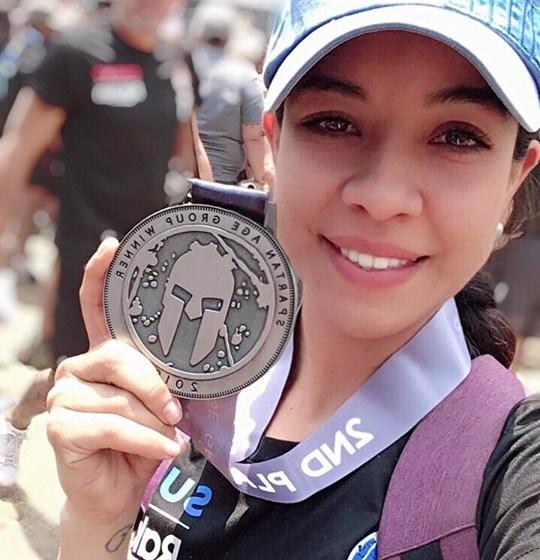 Jancy Maza sobresale en el Spartan Race Obtuvo el segundo lugar dentro de Mexican Nacional Series