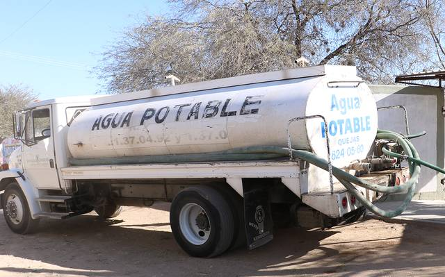 Hay que poner orden a la venta y comercialización de agua en pipas