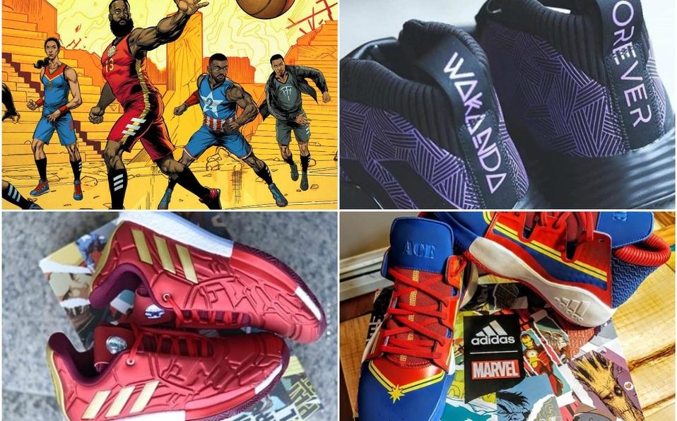 Adidas y Marvel se unieron para lanzar tenis de Avengers