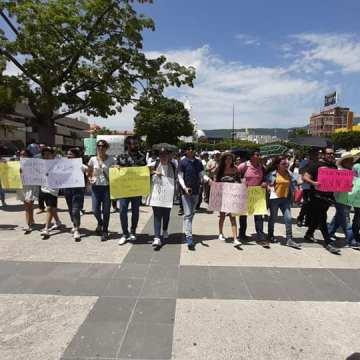 Ciudadanos, activistas y comunicadores salieron a las calles de Tuxtla, exigen seguridad