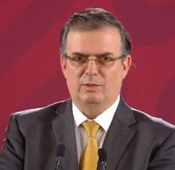 Disminuye flujo migratorio en México 36.2%, afirma Ebrard