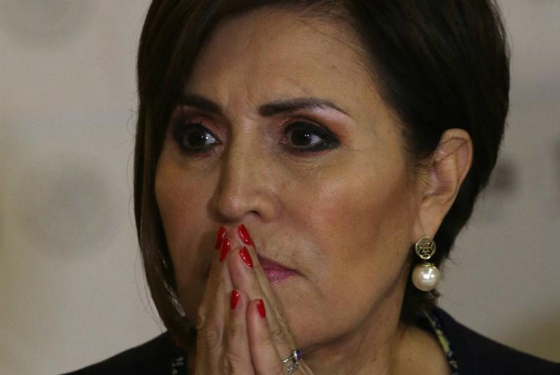 Fiscalía viola mis derechos, pero daré la cara, señala Rosario Robles