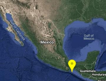 Se registra sismo de magnitud 5.3 en Oaxaca
