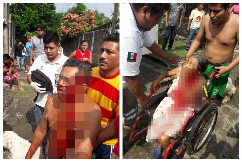 Nieto ataca a sus abuelos con un machete porque no quisieron darle dinero