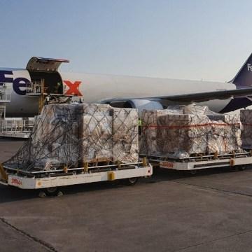 Llegan a México ventiladores comprados a Estados Unidos