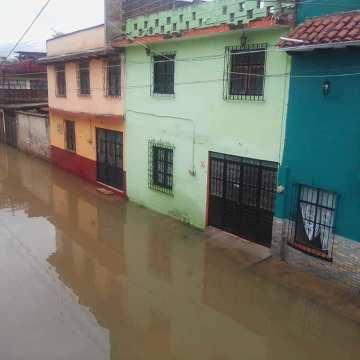 Decenas de viviendas dañadas en todo el estado por las constantes lluvias