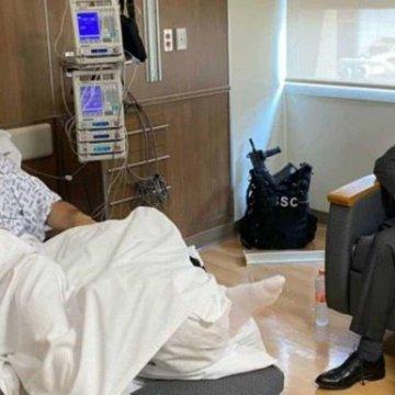 García Harfuch sale del hospital tras el ataque en su contra