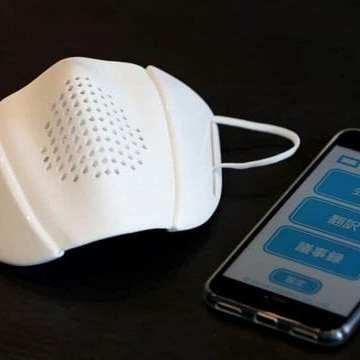 Este cubrebocas inteligente amplifica la voz y traduce en ocho idiomas