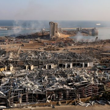 Más de 100 muertos y de 4,000 personas resultaron heridas en las explosiones ocurridas en el puerto de Beirut