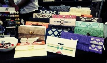 FELICITY'S Creative Designs custom handmade clutches, hair accessories and earrings